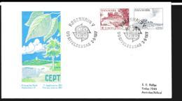 Denmark 1977 FDC Europa CEPT  (G114-33) - 1977