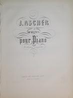 Spartiti - Montagnarde - Mazurka De Salon Per Piano - J. Ascher - Vieux Papiers