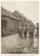 Prisonniers Allemands à NEUVILLE SAINT WAAST  1915 - Vieux Papiers