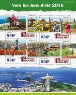 TOGO 2015 - Archery, Rio Olympics - YT CV=23 €, 4802-5 - Tiro Con L'Arco