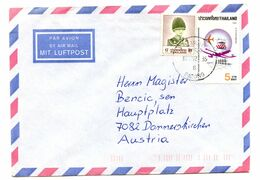 Thailand, Letter Cover Posted 1992? Patong Pmk B200725 - Tailandia