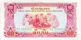 Laos 10 Kip (ND) Pick 20a UNC - Laos