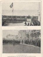 LE HAVRE SAINTE ADRESSE Anniversaire Du Roi Des Belges 1916 (le Gouvernement Belge était Installé Au Havre) - Vieux Papiers