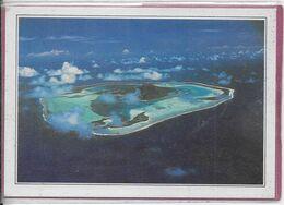 POLYNESIE-FRANÇAISE  - Maupiti L' Ile Vue D' Avion - Französisch-Polynesien
