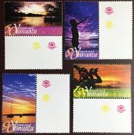 Vanuatu 2005 Sunsets MNH - Vanuatu (1980-...)