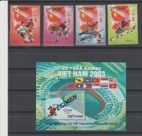 VIETNAM  2003  #SPECIMEN - SPORTS FOOTBALL - SEA GAMES **MNH    Réf  03D - Vietnam