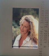EKTA - Brigitte Fossey - 1993 Diapositive De Presse - Diapositives (slides)