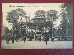 """FRANCE, Carte Postale..."""" DUNKERQUE """" ..........Parc Du La Marine.....Le Kiosque - Dunkerque"""