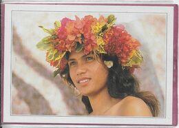 POLYNESIE-FRANÇAISE  - Mooréa  Jeune Vahiné - Französisch-Polynesien