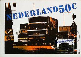 CAMION POIDS LOURD - Carte Maximum Card  UTRECH Timbre Truck Vrachtwagen 1980 - Camion, Tir
