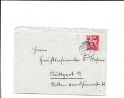 Brief Aus Tübingen 1938 - Cartas