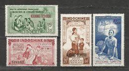 KOUANG-TCHEOU  P.A N° Y&T 1 à 4 Timbres Neufs** Sans Charnière (voir Les 2 Scans) - Unused Stamps