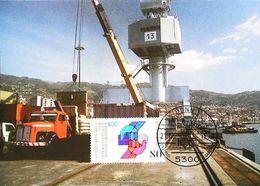 CAMION POIDS LOURD - Carte Maximum Card  HAMBURG LKW  Timbre Truck Vrachtwagen 1990 - Camion, Tir