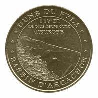 Monnaie De Paris , 2010 , La Teste De Buch , Bassin D'Arcachon , Dune Du Pyla - Monnaie De Paris