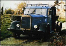 CAMION Français BERLIET Type GDRA G 1941 - Fondation Marius Berliet à Lyon - Camion, Tir