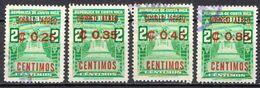 Costa Rica Used Overprinted Set - Costa Rica