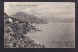 CPA ITALIE - SALERNO - Panorama - Raifo - Vietri - Salerno - TB Villas + TB Oblitération TIMBRES Rajout TALI VALE L. - Salerno