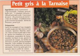 RECETTE DE CUISINE Les Escargots Petits Gris A La Tarnaise - Ricette Di Cucina