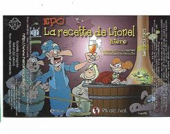ETIQUETTE BIERE BRASSERIE A VAPEUR / PIPAIX - Beer