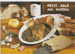RECETTE DE CUISINE La Petit Salé Aux Lentilles Spécialité D' Auvergne - Ricette Di Cucina