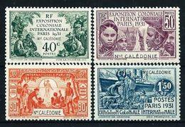 Nueva Caledonia Nº 162/5* Cat.35€ - New Caledonia