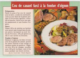 RECETTE DE CUISINE Le Cou De Canard Farci A La Fondue D' Oignon - Ricette Di Cucina