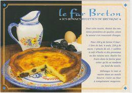 RECETTE DE CUISINE Bretagne Le Far Breton ( Faienceries De Quimper ) - Ricette Di Cucina