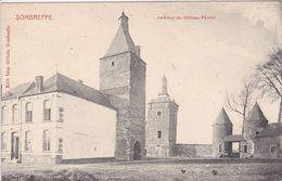 BELGIQUE SOMBREFFE ,intérieur Du Château Féodal - Sombreffe