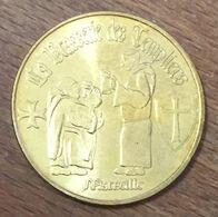 13 MARSEILLE BRASSERIE DES TEMPLIERS MÉDAILLE MONNAIE DE PARIS 2011 JETON MEDALS TOKENS COINS - Monnaie De Paris