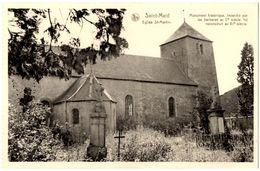 BELGIQUE VIRTON - SAINT-MARD -  Eglise St.-Martin - Editeur: Jean-Jacques, Saint Mard - Virton