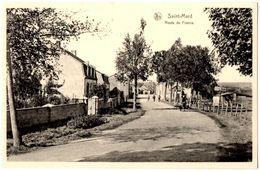 BELGIQUE VIRTON - SAINT-MARD -  Route De France - Editeur: Jean-Jacques, Saint Mard - Virton