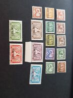 Kouang Tcheou Yvert 140-155** - Unused Stamps