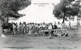 CPA - Camp De Coetquidan - Les Forges - - Frankreich