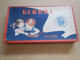 GEOBRA TELEGRAPH, Pour Communiquer En Morse, Très Rare, Incomplet - Oud Speelgoed