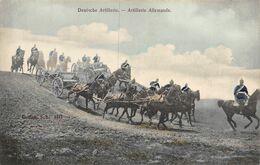 A-20-198 : ARMEE ALLEMANDE ARTILLERIE. DEUTSCHES HEER. DEUTSCHE ARTILLERIE - Régiments