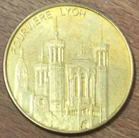 69 LYON FOURVIERE MEDAILLES ET PATRIMOINE 2012 JETON TOURISTIQUE MEDALS COINS TOKENS - Toeristische