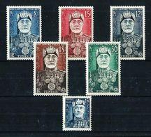 Túnez (Francés) Nº 383/7-395 Nuevo* - Tunisie (1888-1955)