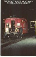 CPSM ,Th.Transp , N° J18297 , Whippany Railway Museum, Whippany , New Jersey ...... , Ed. Mary Jayme's, 1998 - Trenes