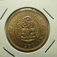 New Zealand 1/2 Penny 1952 - New Zealand