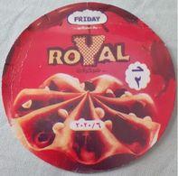 EGYPT Friday (Royal) Red  Etiquette Glace /ice-cream Label / Etikett Etiqueta Icecream - Otros