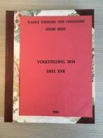 Volkstelling 1814 Van Oostkamp, Slijpe, Schore, Bovekerke, Beerst En Ruddervoorde. - Storia