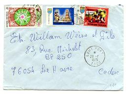 Togo, Letter Cover Posted 1975 B200725 - Togo (1960-...)