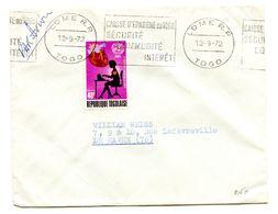 Togo, Letter Cover Posted 1972 B200725 - Togo (1960-...)