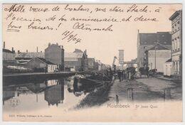 CPA - Bruxelles -  Molenbeek Saint Jean - Quai - 1904 - Molenbeek-St-Jean - St-Jans-Molenbeek
