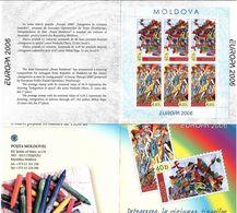 Moldova 2006 . EUROPA 2006. Booklet Of 6 (3 Sets). Michel # 549-50 MH - Moldavia