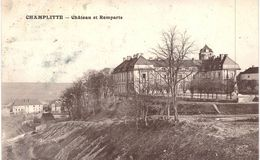 Carte POSTALE Ancienne De  CHAMPLITTE - Château & Remparts - France