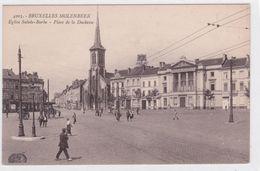 CPA - Bruxelles -  Molenbeek Saint Jean - Eglise Sainte Barbe - Place De La Duchesse - Molenbeek-St-Jean - St-Jans-Molenbeek