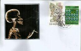 Campagne Anti-tabac De San Marino.  Belle Lettre San Marino - Medicine