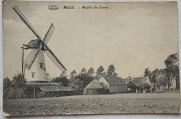 AK MELLE MOLEN Kwatrecht Wetteren Heusden Merelbeke Moulin De Coene - Melle