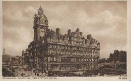 RAILWAY INTEREST: GREAT NORTH BRITISH STATION HOTEL, EDINBURGH, SCOTLAND ~ L.N.E.R ADVERT Pu1937 - Ferrocarril